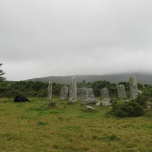 Away from the tourists at a rustic stone circle outside Castletownbere.