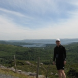 After arriving in Glengariff, our guide, Billy, drove us up to a pass overlooking the town and bay.