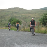 Approaching the Top of Coom. From the pub here, it was downhill all the way back to Killarney.