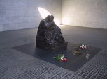 "Kathe Kollwitz lived from 1867 to 1945. Her sculpture Mother with her Dead Son"" is the centerpiece of a memorial to the victims of war and tyranny at the Neue Wache on the Unter den Liden."