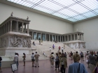 The Pergamon Altar in Berlin's Pergamon Museum, which was built specifically to house this and other massive archeological artifacts brought to Berlin from the Middle East.