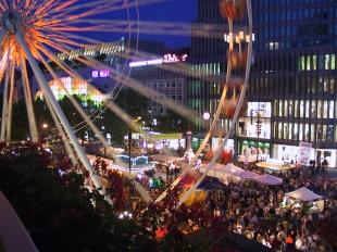 Street festival on Berlin's Kurfürstendamm, better known as the Ku'damm.