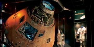 The command module from the ill-fated Apollo 13 mission is at the Cosmosphere.