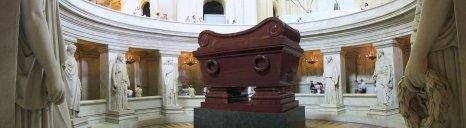 Napoleon's tomb at Les Invalides.