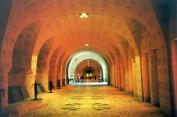 Inside the Ossuary near Verdun.